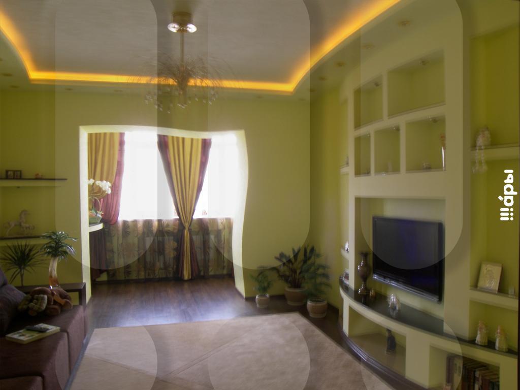 Фото совмещенного балкон и зал..