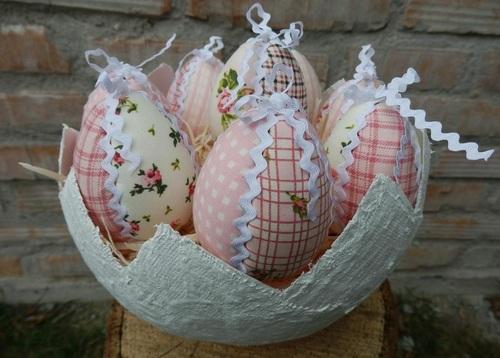 Яйцо пасхальное сделать своими руками