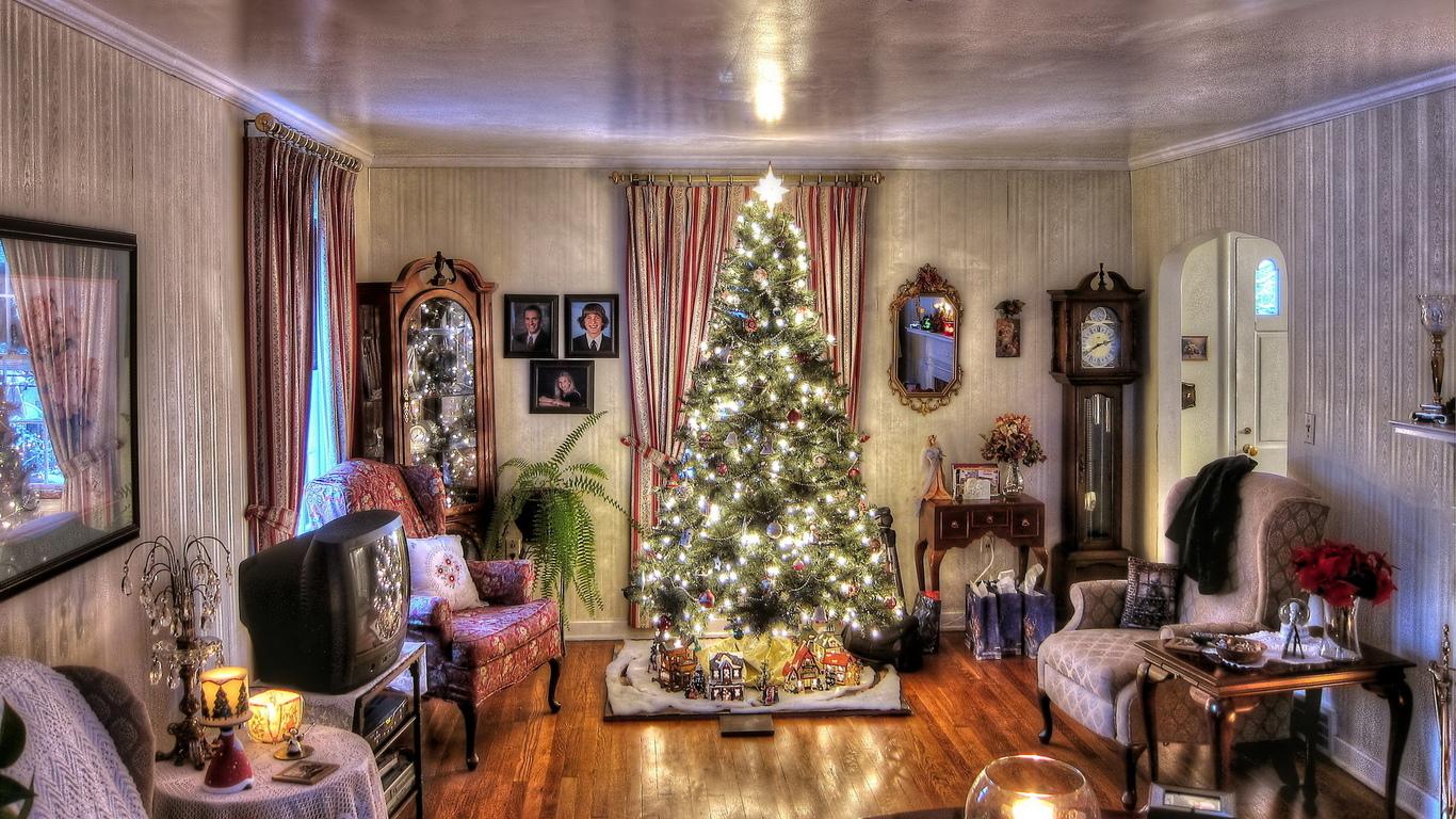 Новогодний дизайн в доме