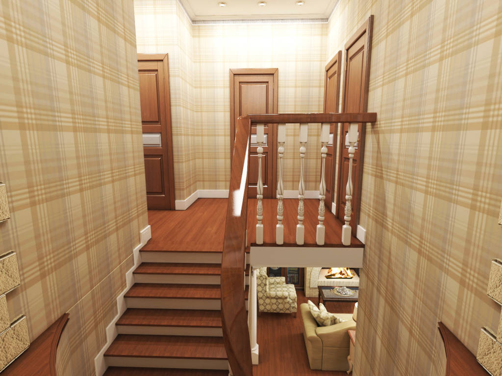 Дизайн на втором этаже
