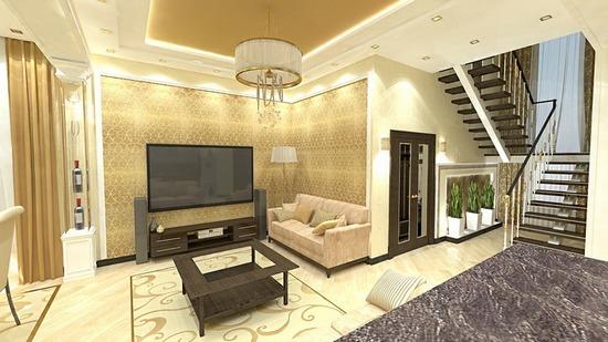 Дизайн 2 этажного