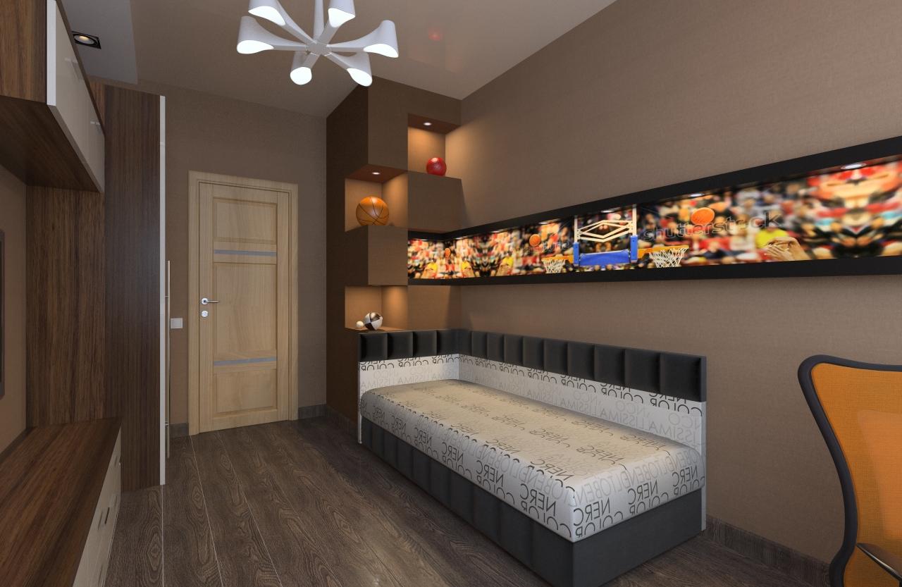 Интерьер комнаты 10 кв.м фото гостиная спальня