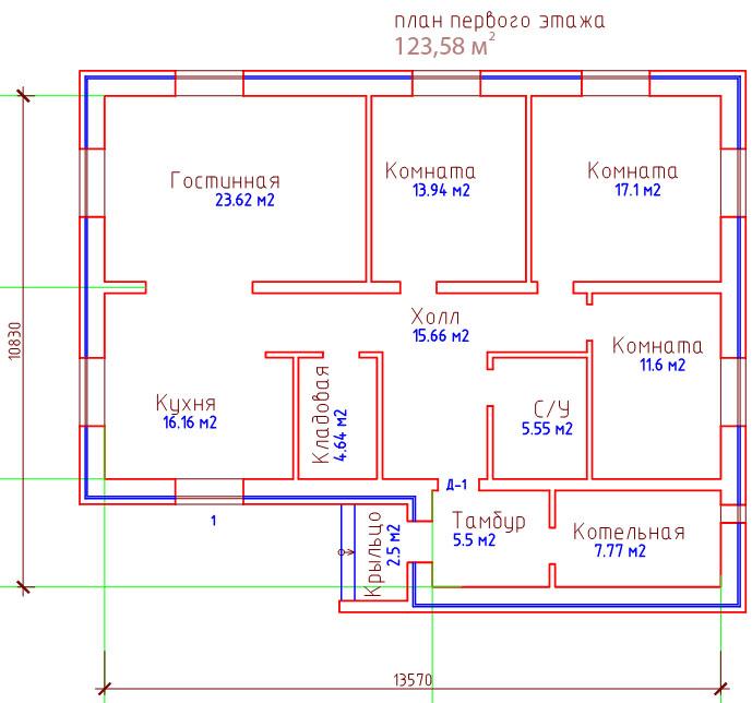 Построить дом одноэтажный из пеноблоков