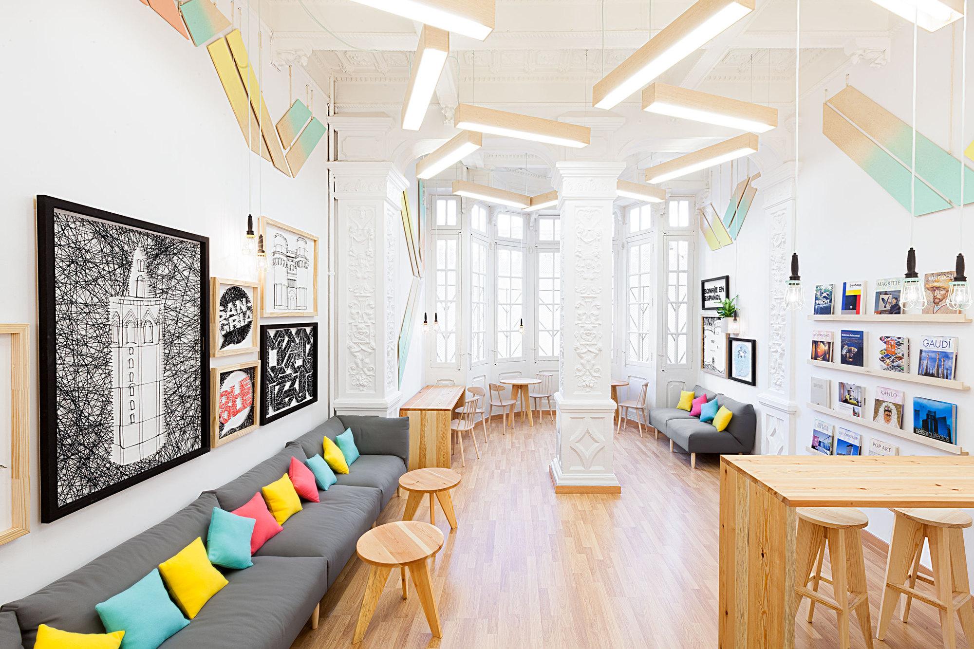 Дизайн пространства обучение