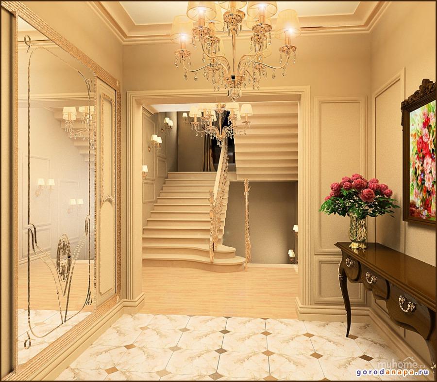 Дизайн прихожая при частном доме