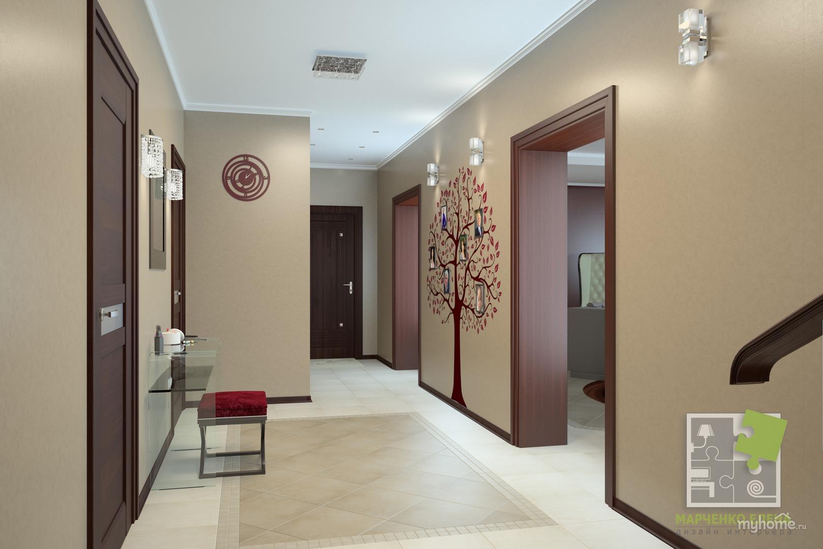Фото дизайна маленького коридора однокомнатной квартиры