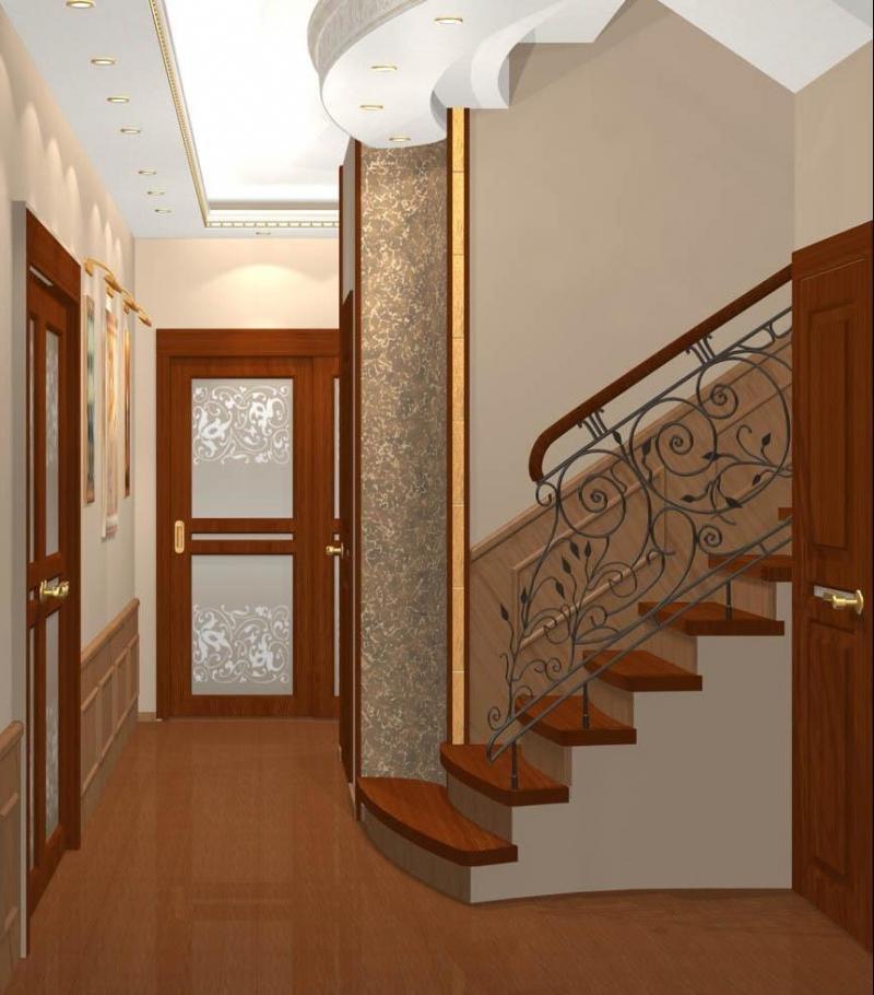 Ремонт в холодном коридоре частного дома