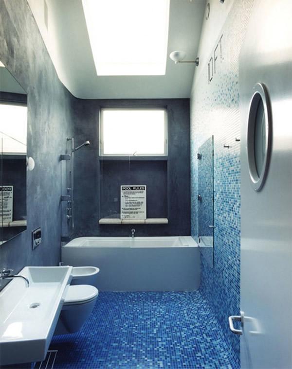 Ванная комната малогабаритная дизайн цвета