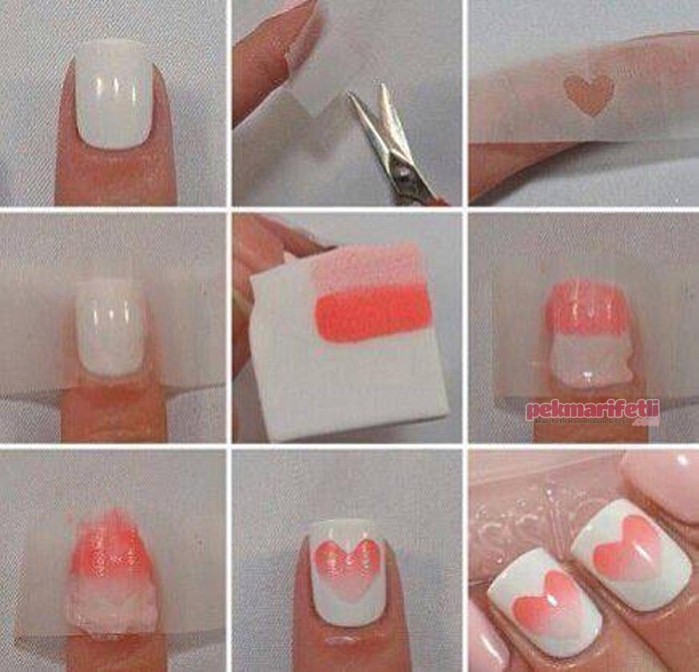 Как делать надписи на ногтях