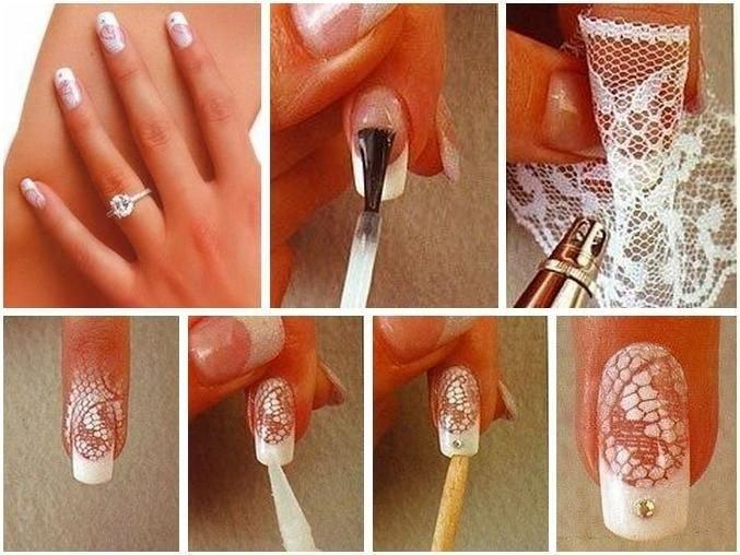 Ногти в домашних условиях поэтапно