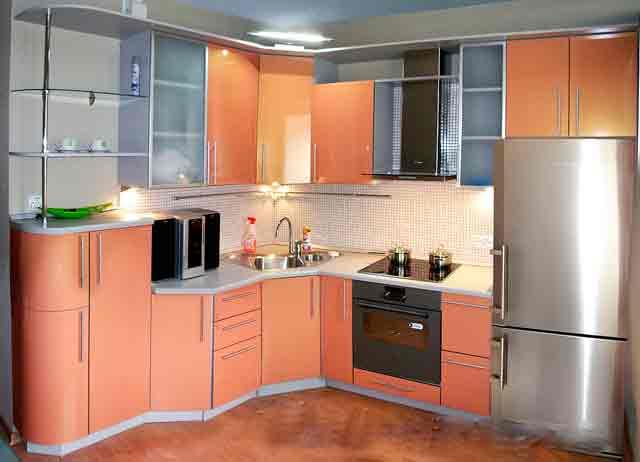 Кухни угловые дизайн 9 кв м