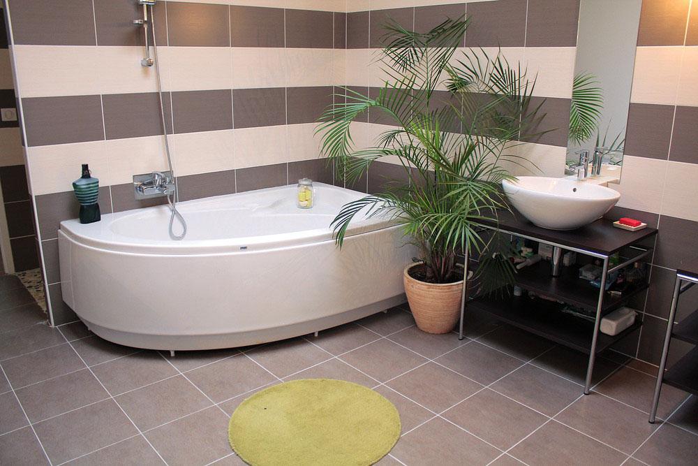 смотреть дизайн ванных комнат с угловой ванной данного белья