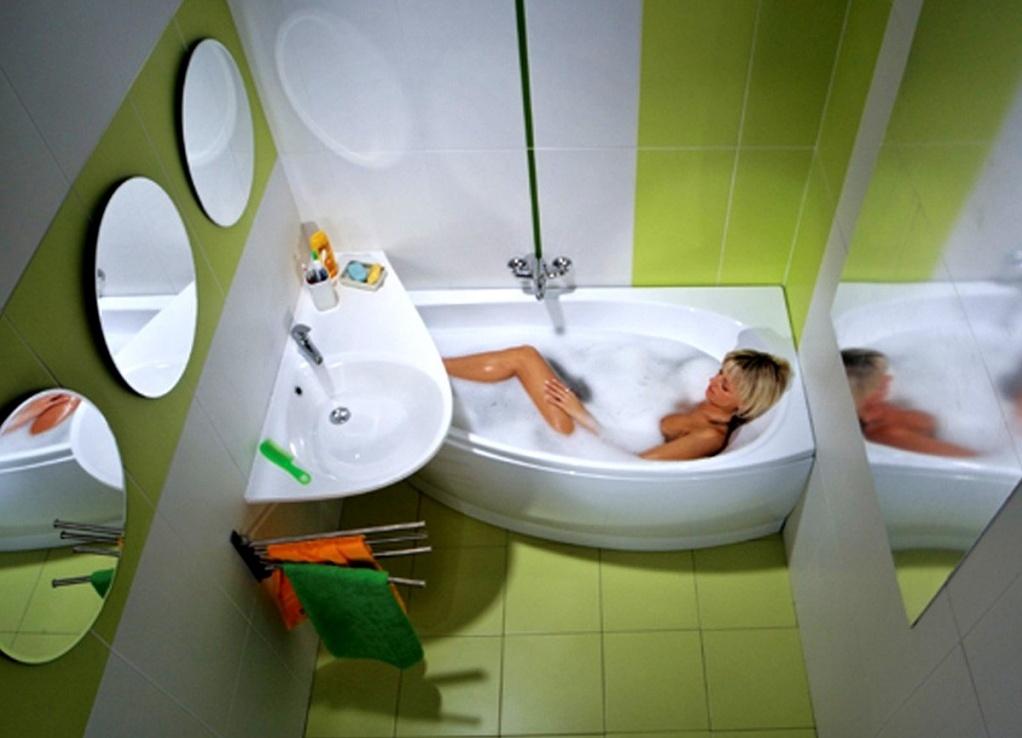 Ванная комната дизайн маленькая угловая