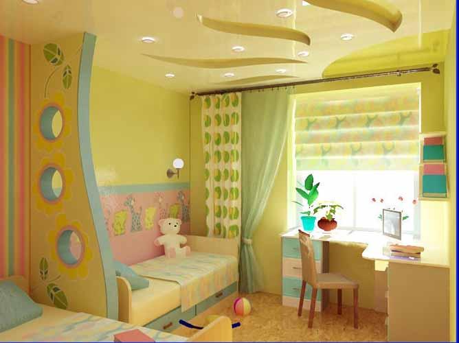 Как обустроить детскую комнату для девочки своими руками