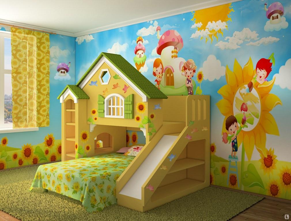 """Фото детской комнаты своими руками """" современный дизайн."""