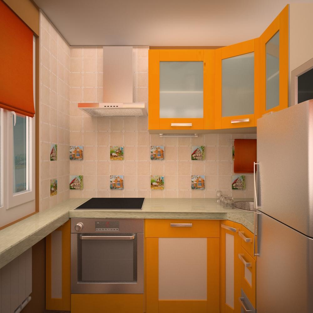Дизайн кухни для маленькой кухни в квартире