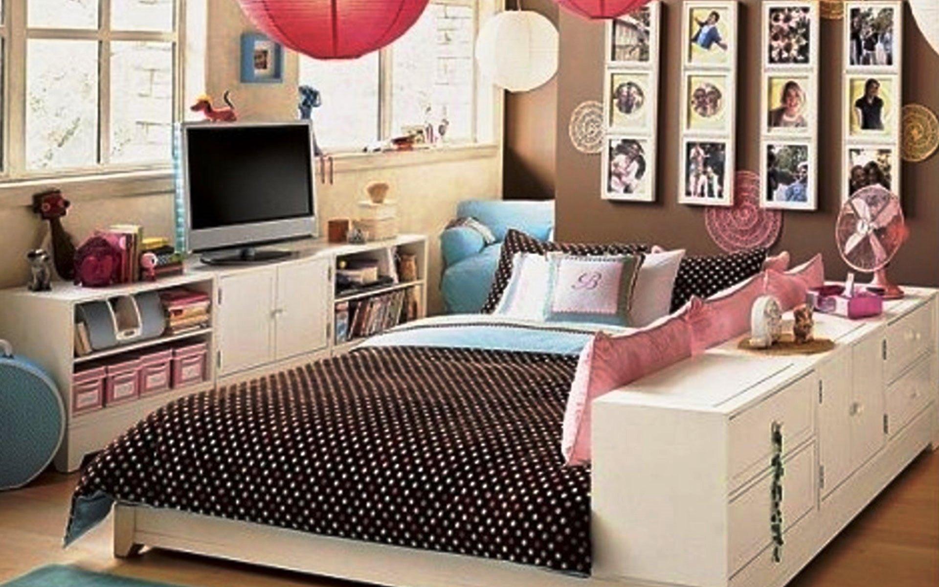 Дизайн подростковой для девочек