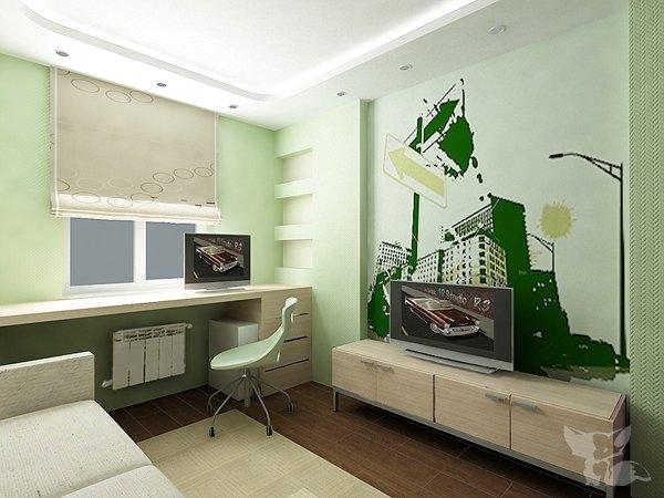 """Дизайн-проект интерьера 2-комнатной квартиры (83 серия) """" со."""