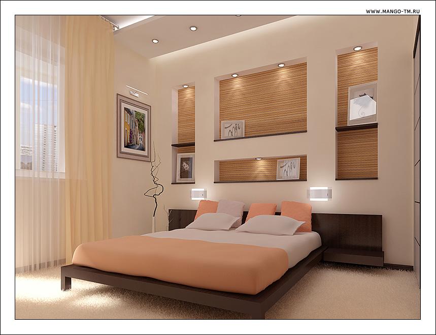 Маленькие спальни ремонт в