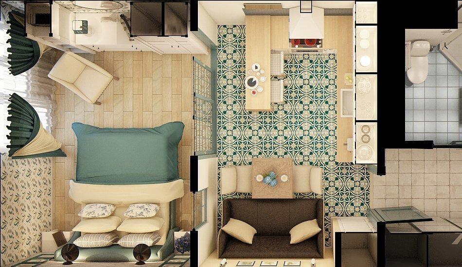 Дизайн и планировка квартир