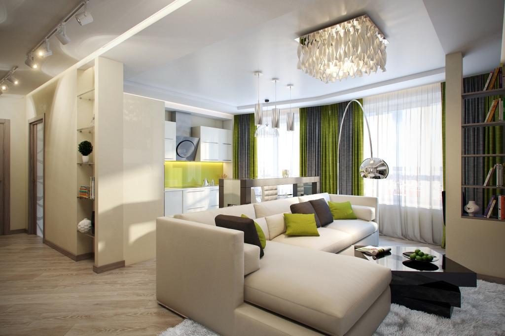 3 комнатная квартира дизайн интерьера