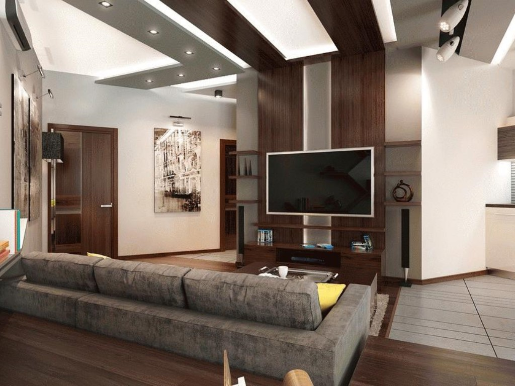 Гостиная студия дизайн интерьера
