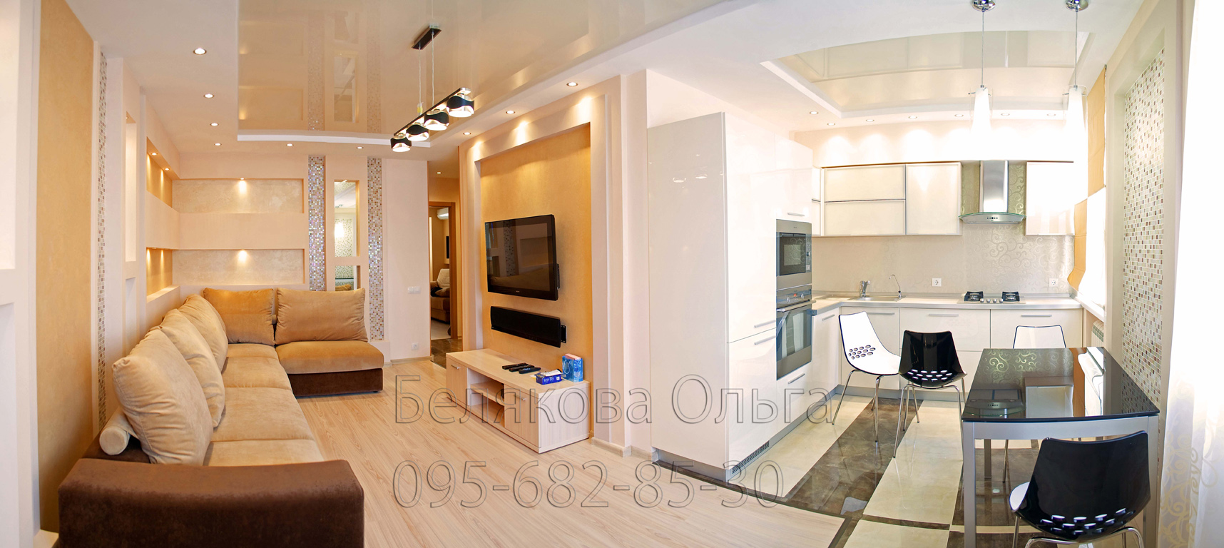 Ремонт и дизайн 2-х комнатной квартиры