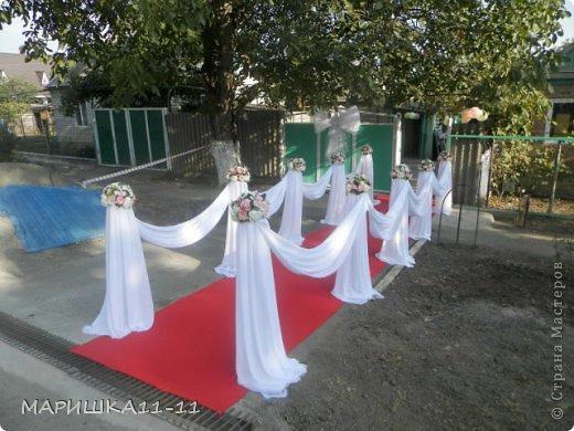 Украсить частный дом на свадьбу