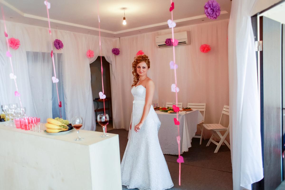 Как украсит дом невесты своими руками