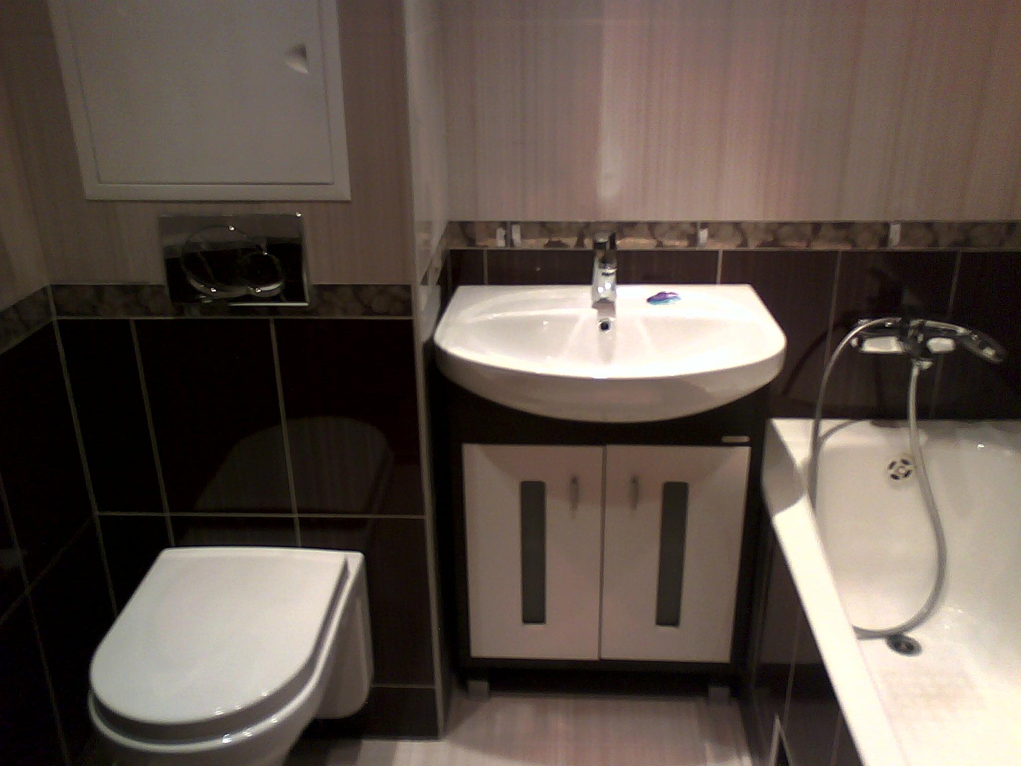 Дизайн ванны совмещённой с туалетом в хрущёвке