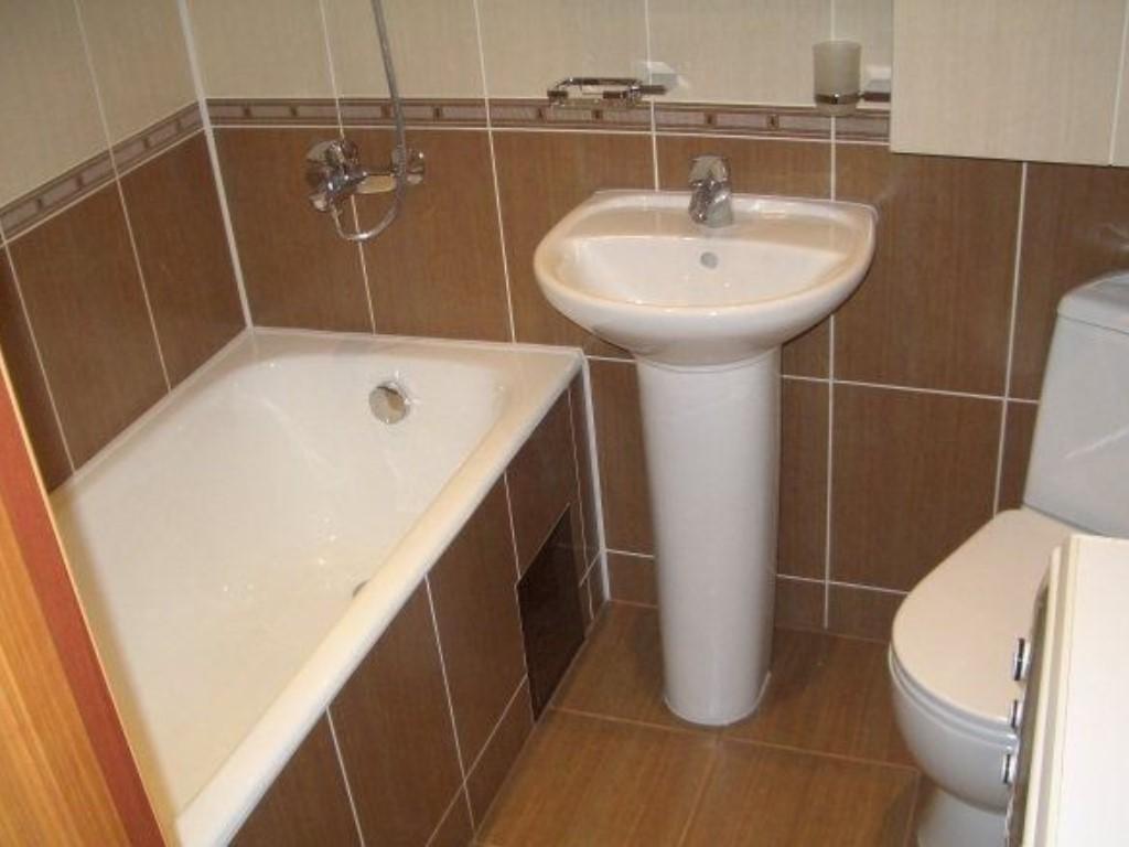 Как сделать ремонт в ванной в хрущевке своими руками недорого 51