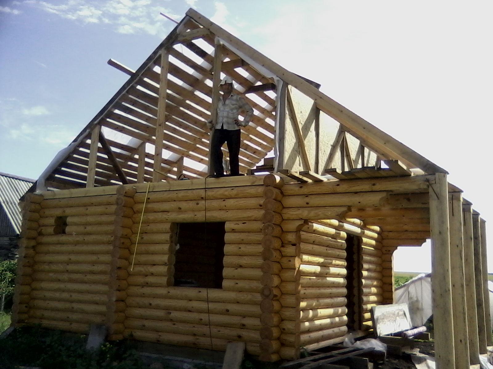 Крыша бани: устройство, как построить и сделать каркас