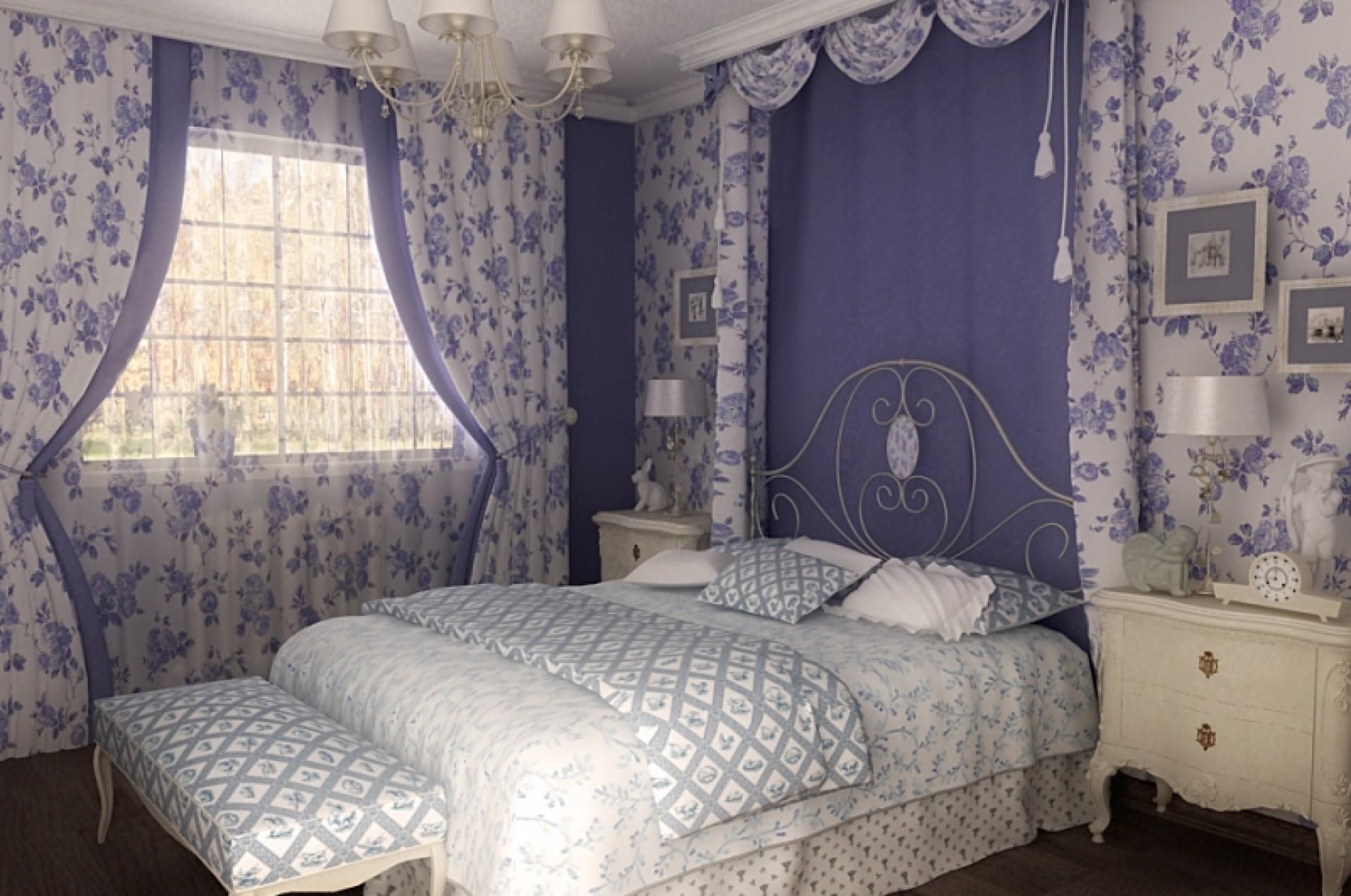 Шторы в стиле прованс своими руками для спальни