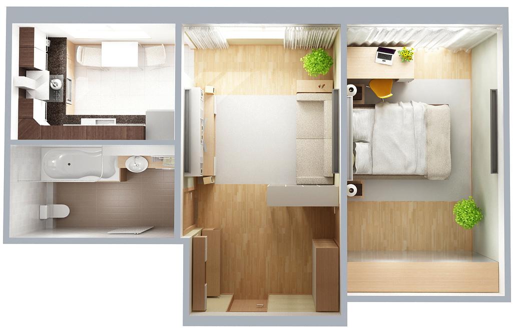 Ремонт 3 х комнатной квартиры - важные моменты и их решение
