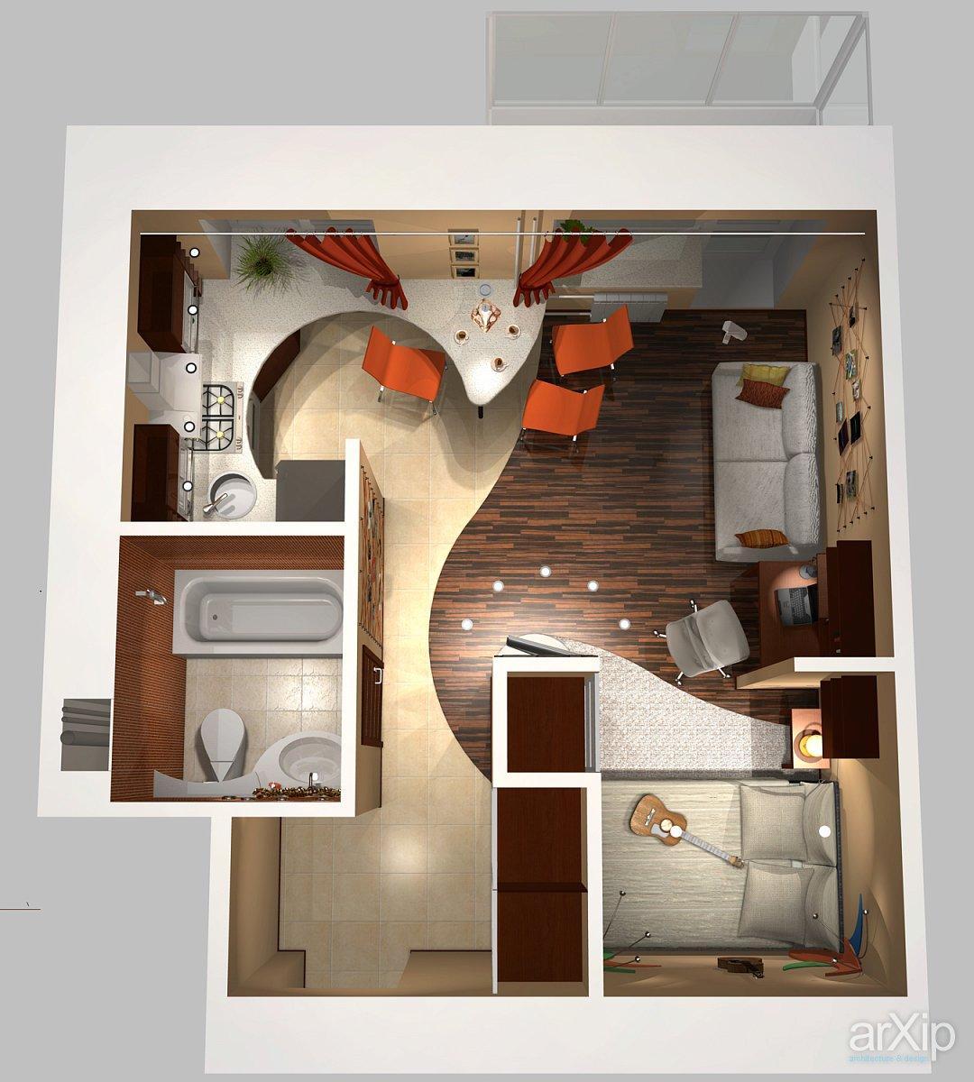 Ремонт малометражной квартир своими руками