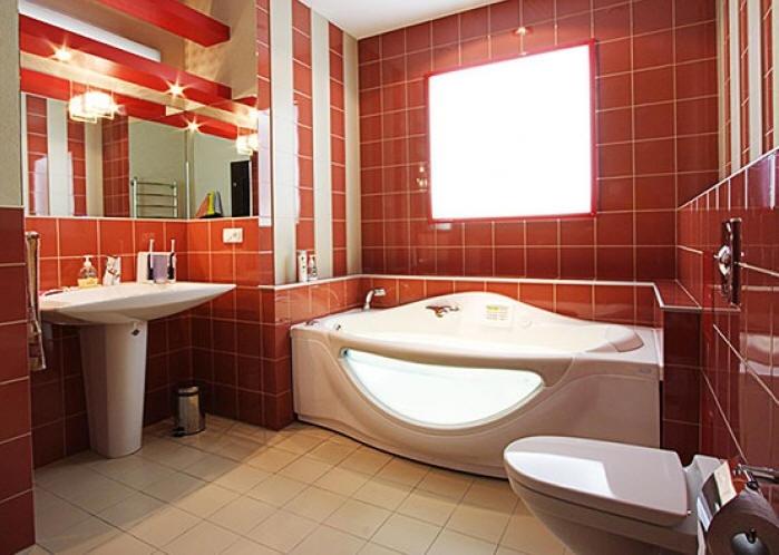 Дизайн с ванной комнаты