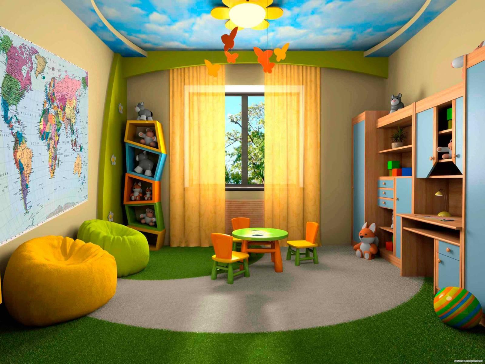 Как переделать детскую комнату