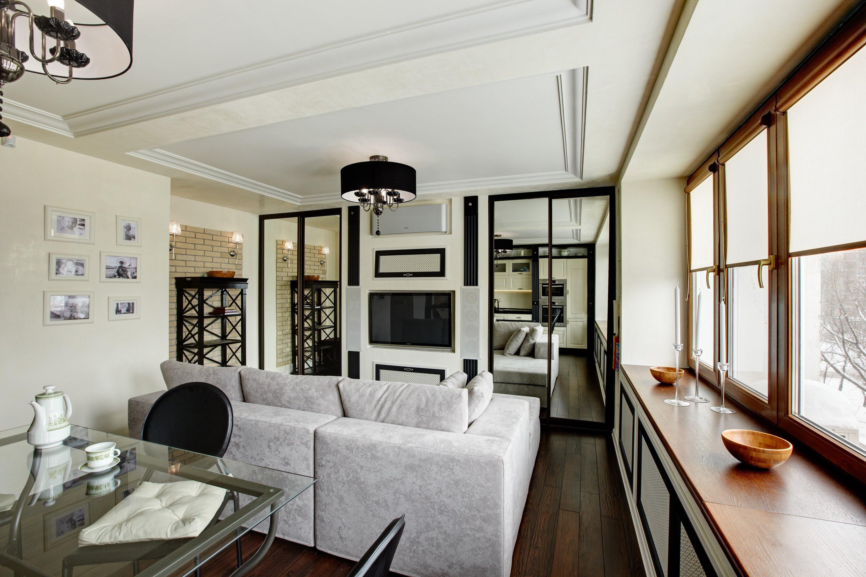 Современный классический дизайн квартиры