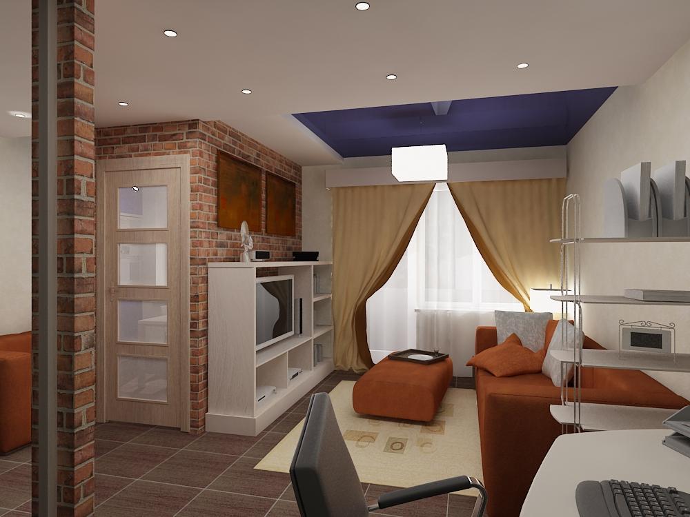 Дизайн интерьера гостиной в квартире: фото. Дизайн в ...