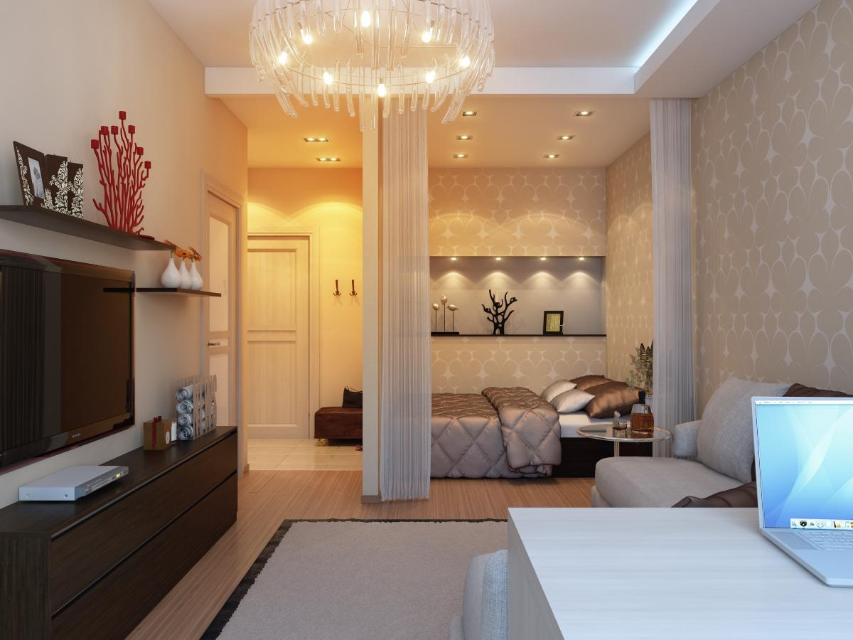 Ремонт 1 комнатная квартира дизайн