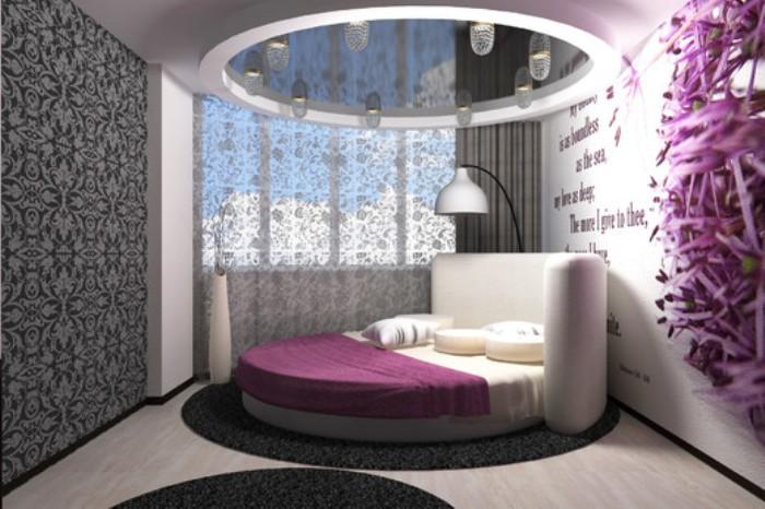 Дизайн интерьера спальни девушки