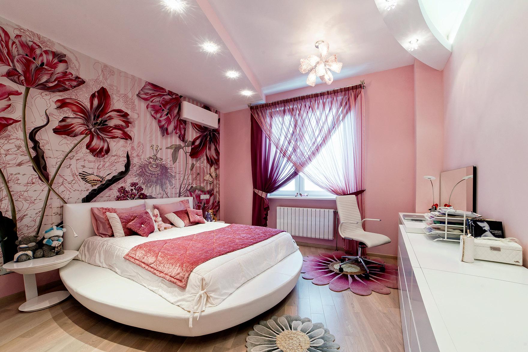 Дизайн квартир для девушки