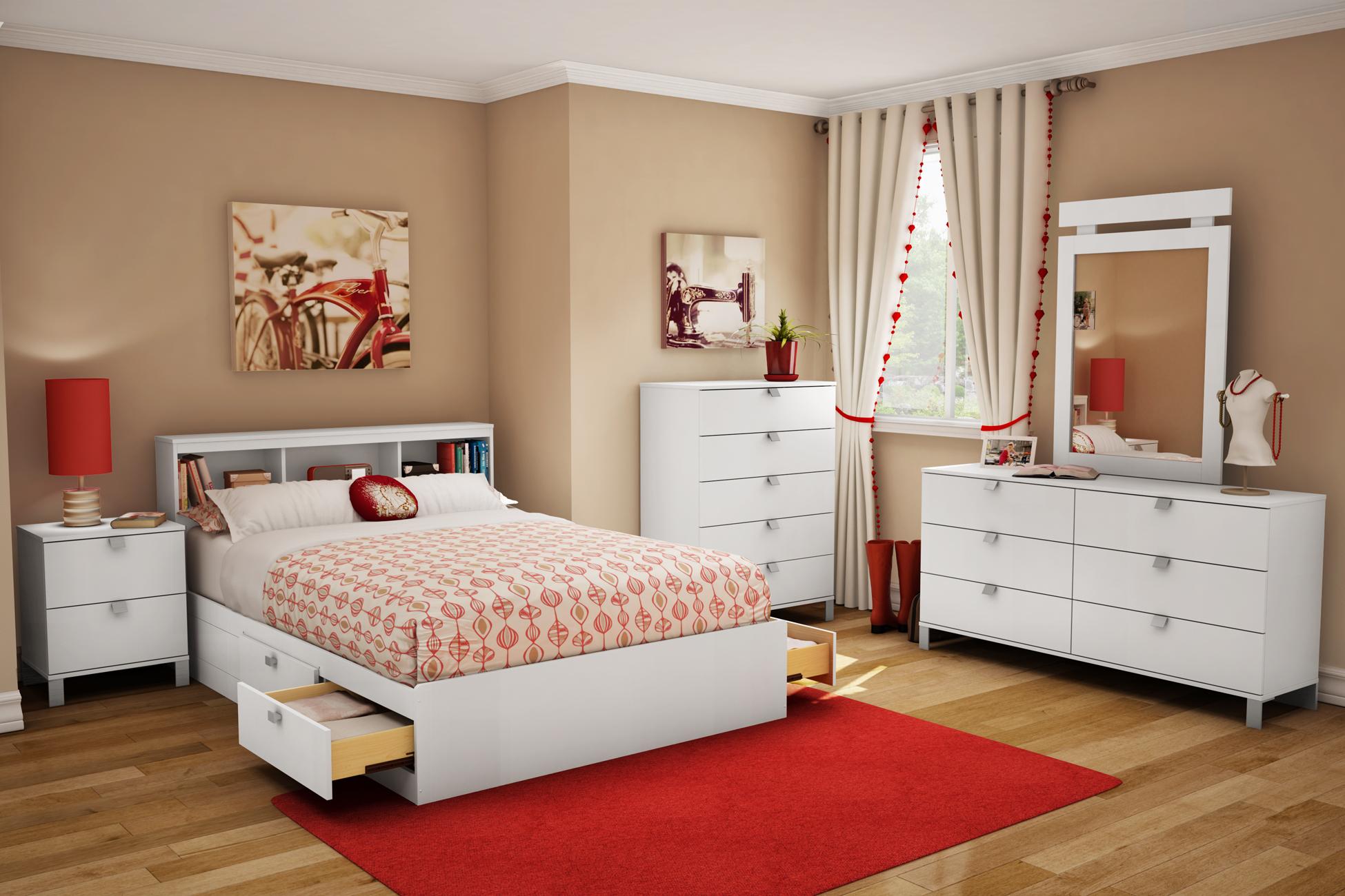 Дизайн интерьера спальни для девушки и девочки