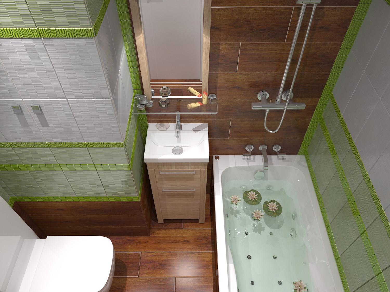 Ванная комната с туалетом своими руками 123