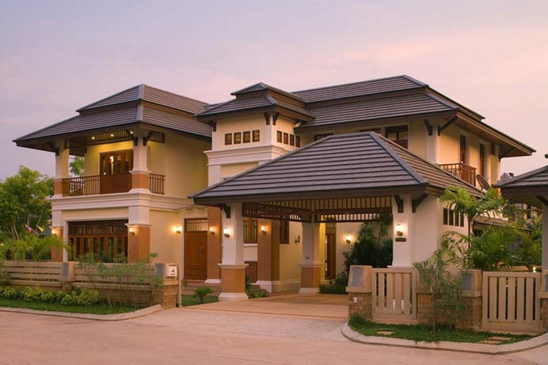 Экстерьер домов и коттеджей