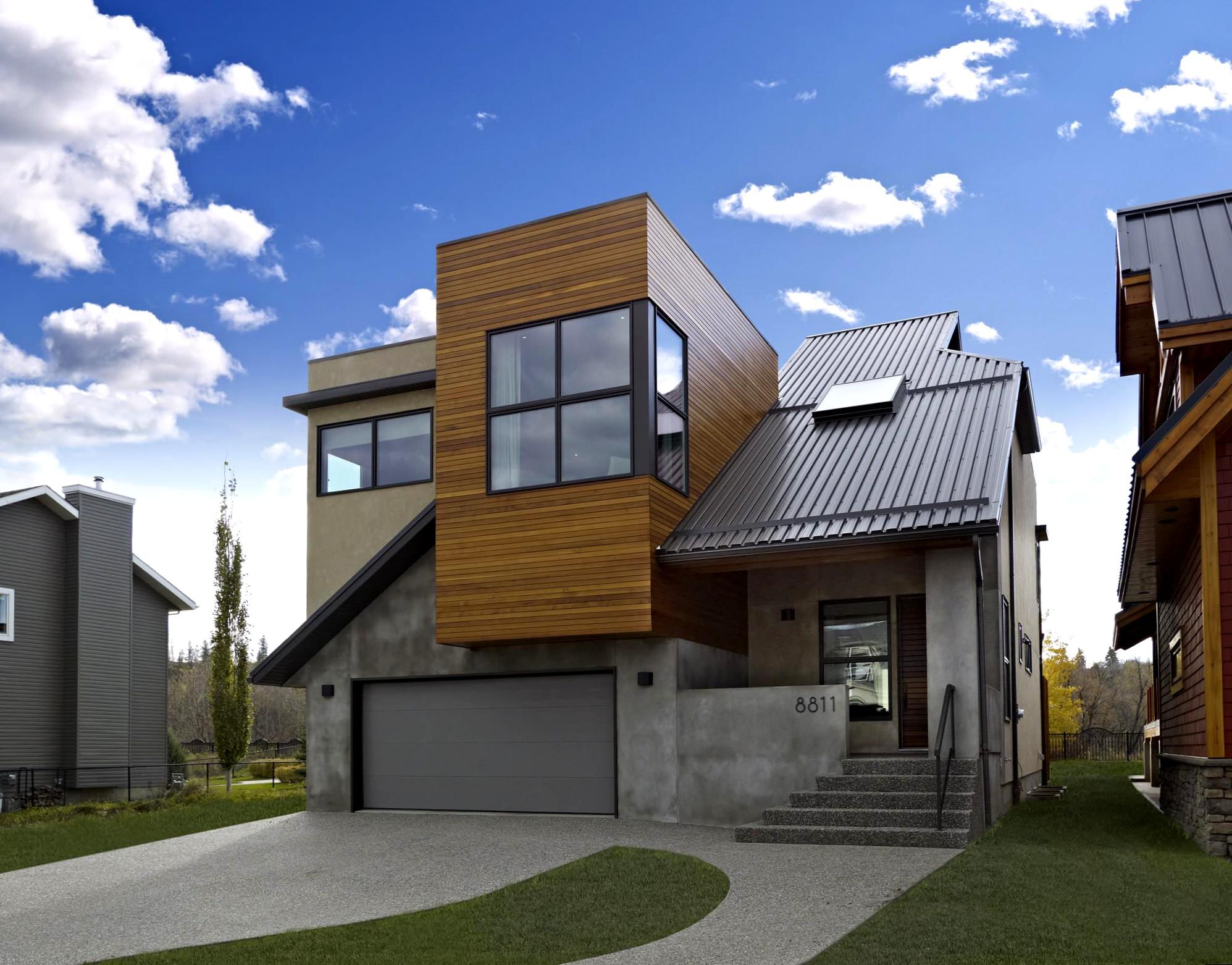 Загородный дом внешний дизайн137
