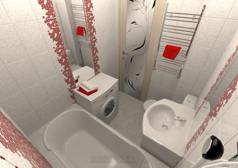 Экономичный ремонт ванной комнаты