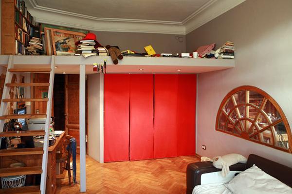 Как сделать комнату в два этажа