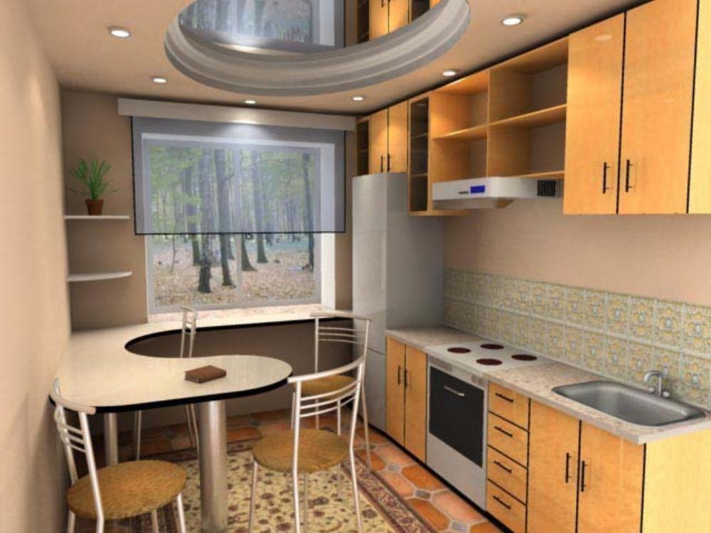 Дизайны кухонь 8м