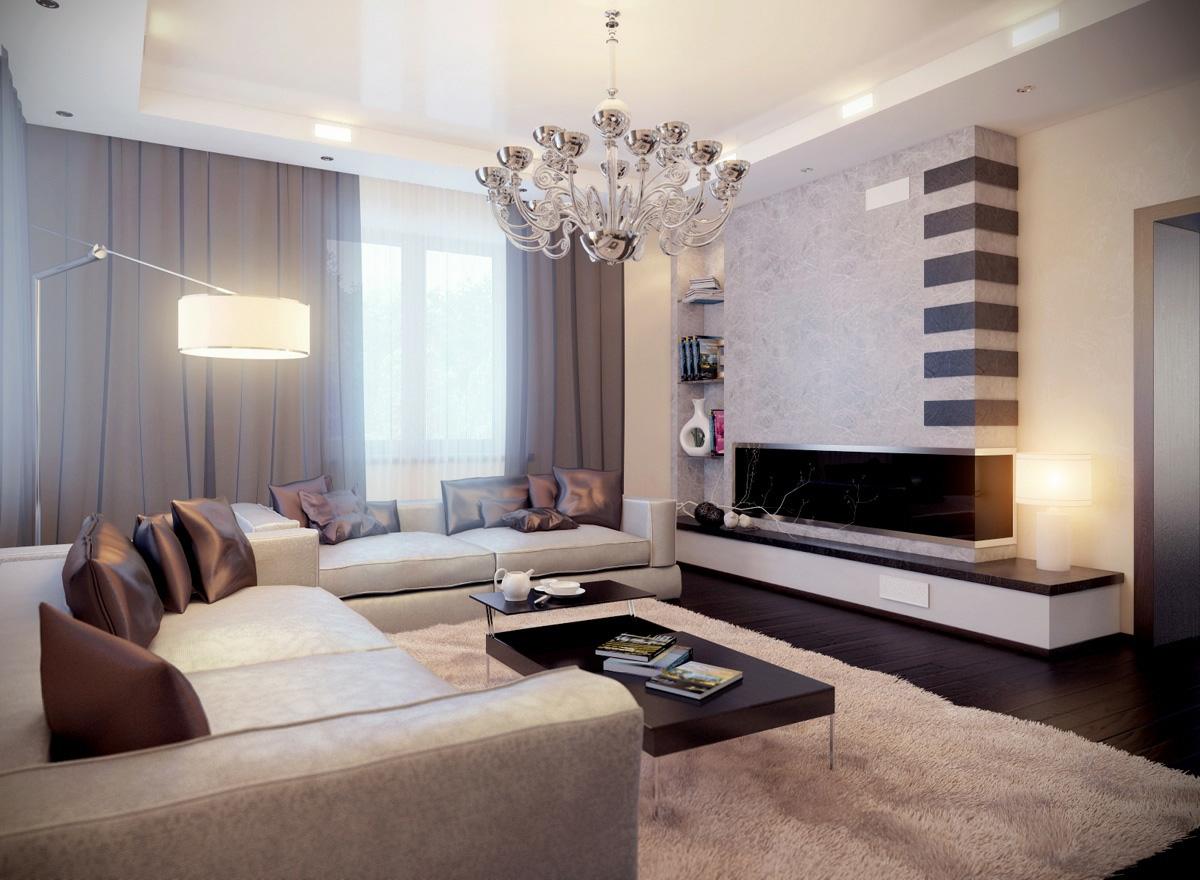 Дизайн гостиной-спальни фото 2016 современные идеи
